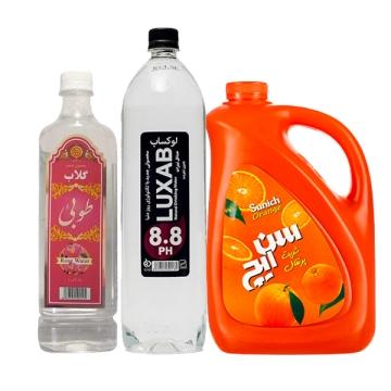 آبمیوه و نوشیدنی های بدون گاز