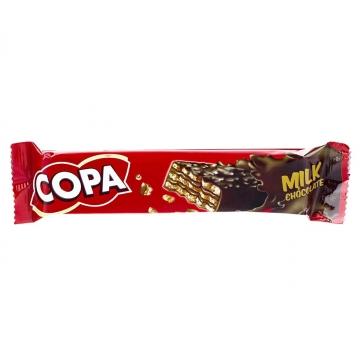 ویفر کاکائویی با کرم شکلاتی 40 گرم کوپا