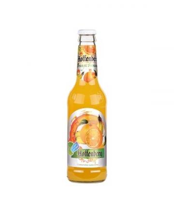 نوشیدنی شیشه پرتقال موز 330 میل هوفنبرگ