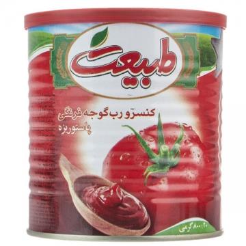 رب گوجه فرنگی 800 گرم طبیعت