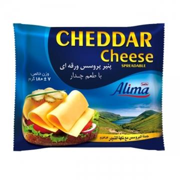 پنیر ورقه چداپنو 180 گرم آلیما