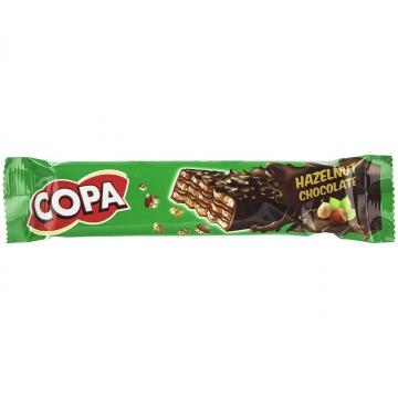 ویفر کاکائویی با کرم فندقی 40 گرم کوپا