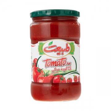 رب گوجه فرنگی شیشه ای 700 گرم طبیعت