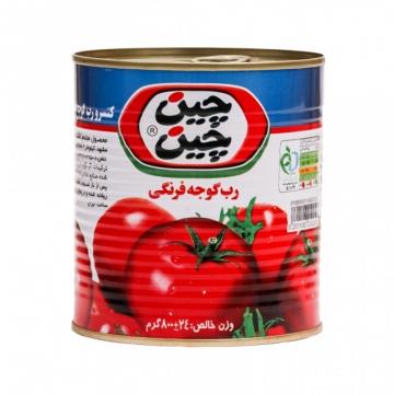 رب گوجه فرنگی آسان بازشو 800 گرم چین چین