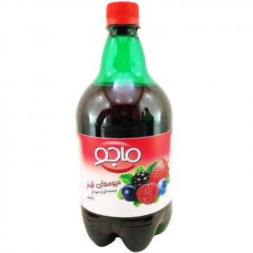 نوشیدنی گازدار میوه های قرمز 1000 میل ماجو