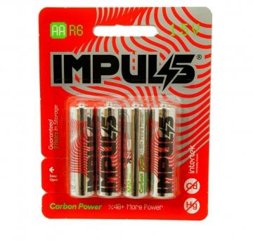 باتری قلمی کربن پاور 4 عددی ایمپالس