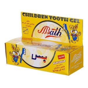 خمیر دندان کودک  ژله ای موزی 80 گرم بس