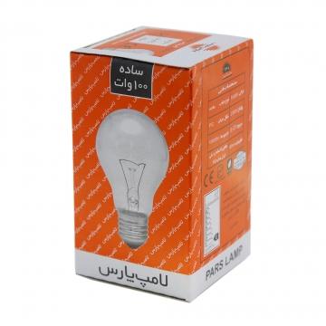 لامپ روشنائی 100 وات پارس شهاب