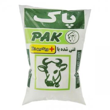 شیر ویتامینه نایلونی 900 گرم پاک