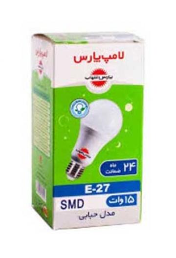 لامپ مهتابی ال ای دی 15 وات پارس شهاب